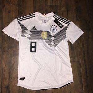 50baf822f2a Adidas Germany soccer Toni Kronos jersey shirt